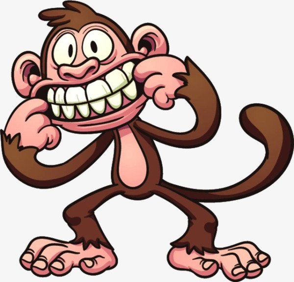 600x577 Cartoon Monkey Material, Cartoon, Monkey Material, Funny Monkey