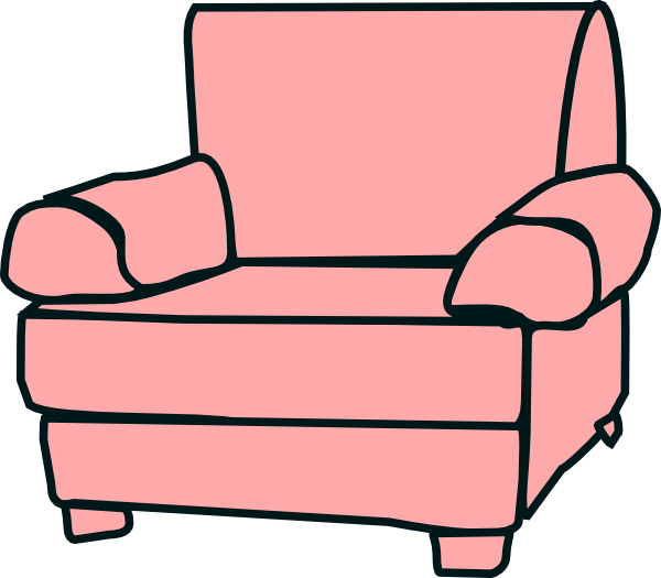 600x525 Sofa Chair Clip Art