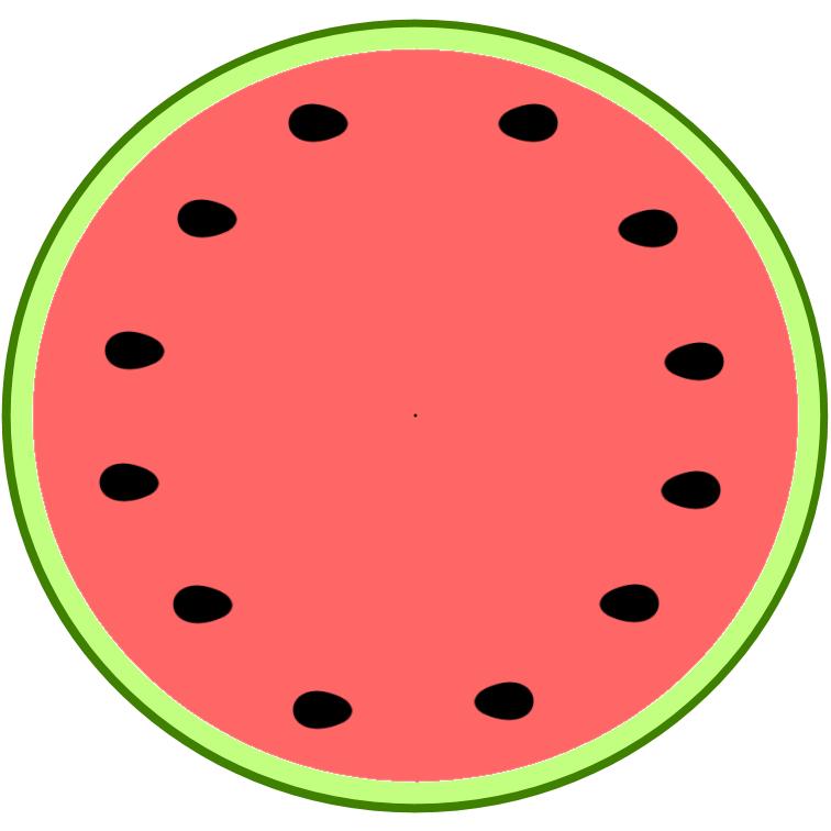 756x756 Free Watermelon Clipart Clip Art Library