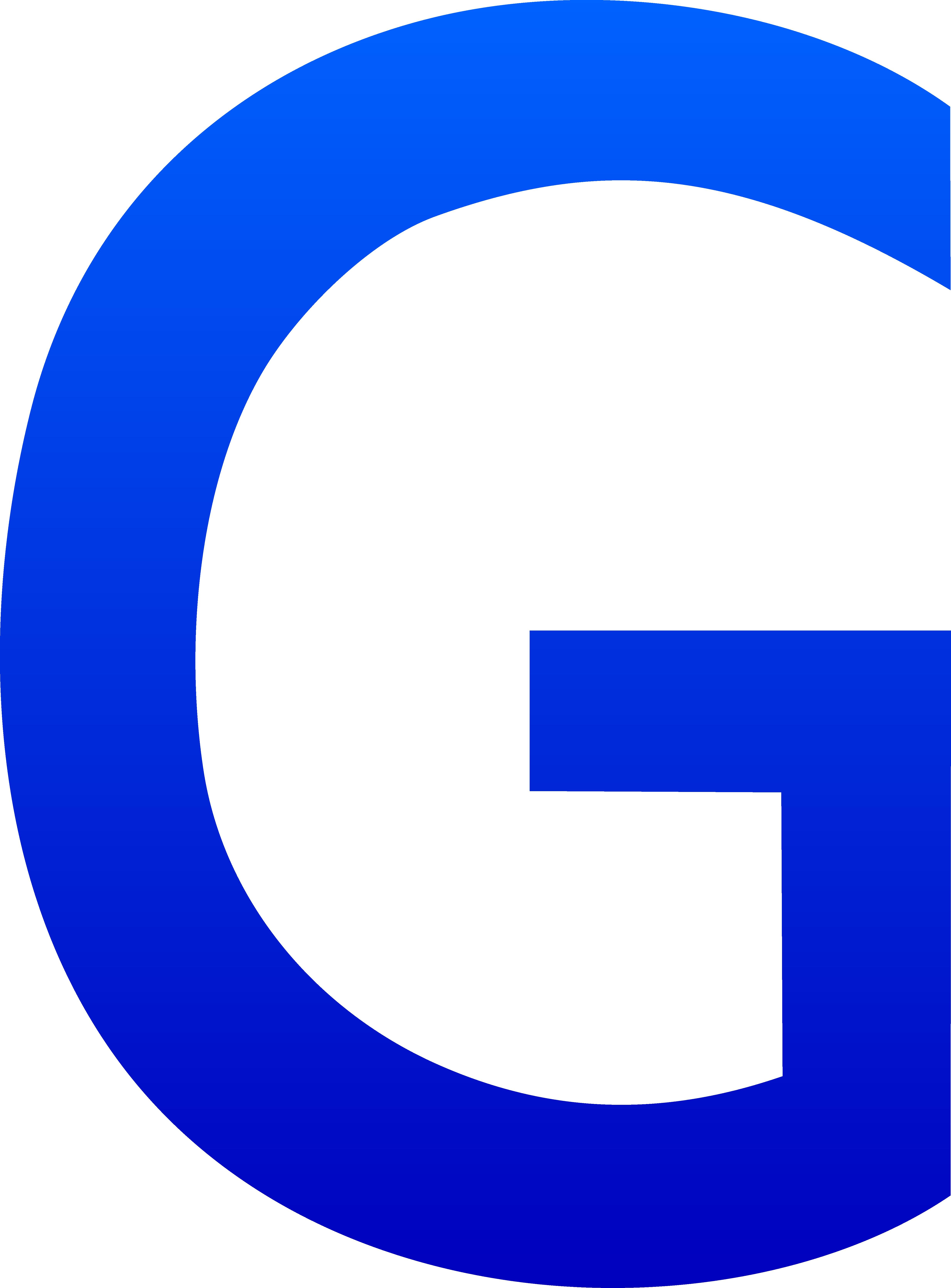 4936x6686 Letter G Clip Art