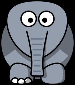 264x300 Crippled Elephant Clip Art