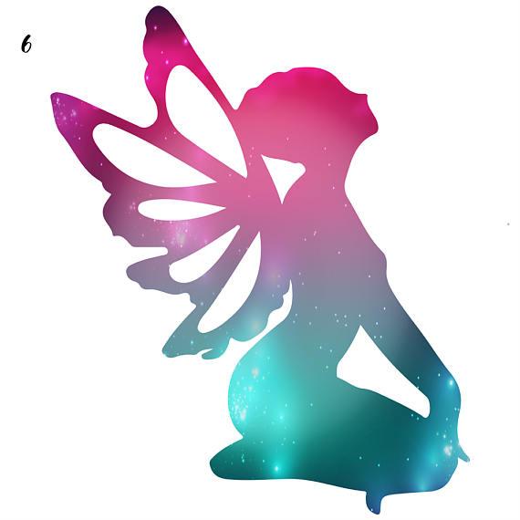 570x570 Galaxy Fairies Fairy Clipart Cosmic Clip Art Rainbow Fairy