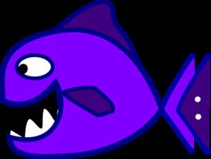 298x225 Purple Fish Clip Art Clipart Panda