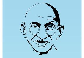 286x200 Gandhi Free Vector Art