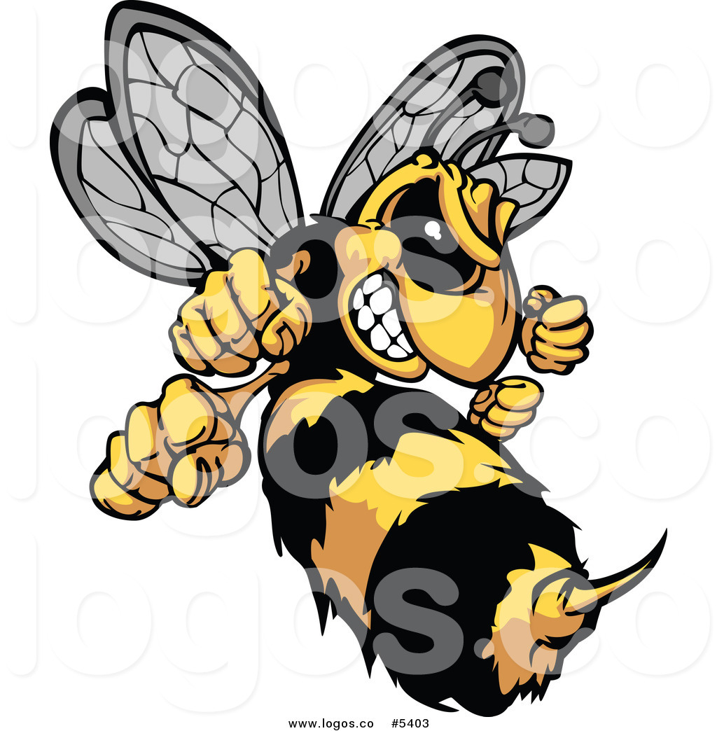 1024x1044 Angry Hornet Clipart