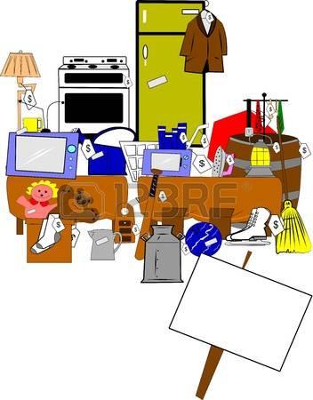 352x450 Free Clip Art Yard Sale 5 431 Garage Sale Stock Vector