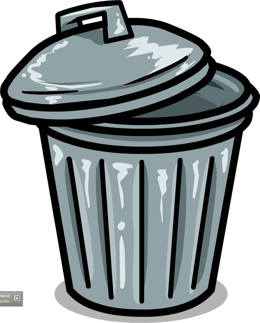 garbage can clipart at getdrawings com free for personal use rh getdrawings com cartoon trash can clipart open trash can clipart