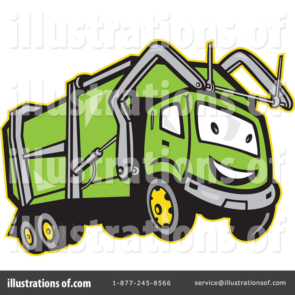 1024x1024 Garbage Truck Clipart