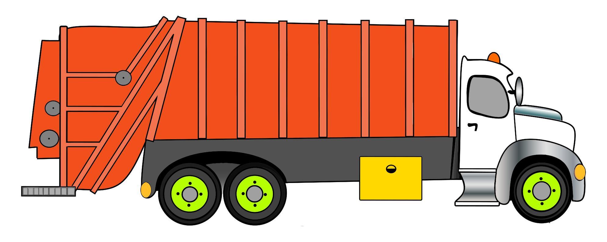 1989x796 Garbage Truck Clipart