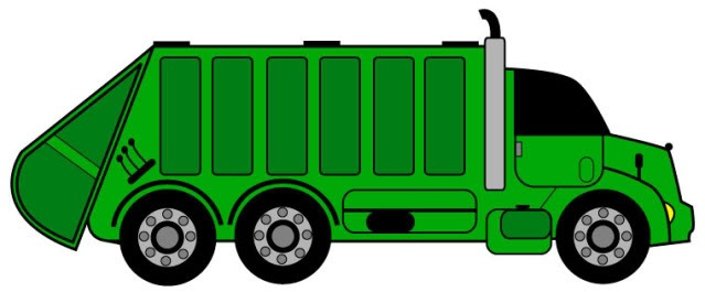 639x265 Garbage Truck Clipart Group