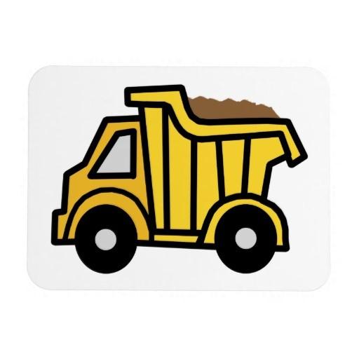 512x512 Construction Trucks Clip Art