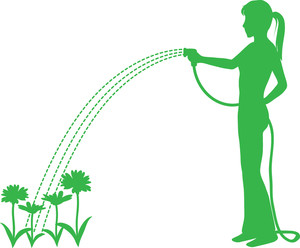 300x248 Gardening Clipart Image