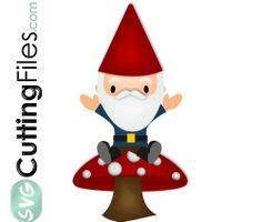 236x200 Garden Gnome Svg Files For Scrapbookin Cards Garden Gnome Svg Cut