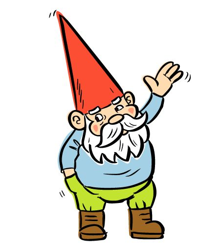 Garden Gnome Clipart at GetDrawings | Free download