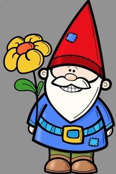 234x350 Gnome Clipart