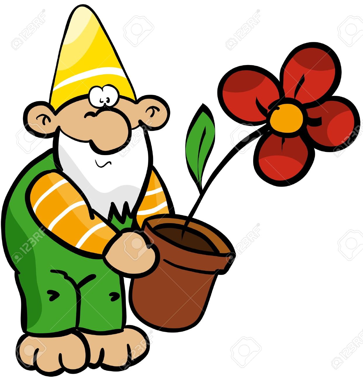 Gnome Clip Art: Garden Gnome Clipart At GetDrawings.com