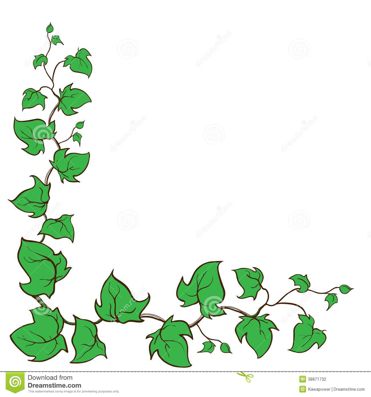 1300x1390 Free Garden Ivy Clipart