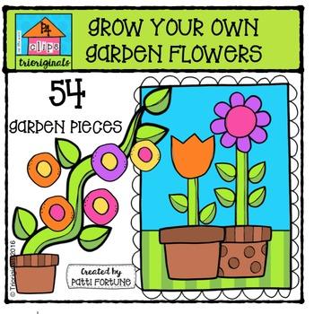 350x350 Garden Flower Clipart Teaching Resources Teachers Pay Teachers