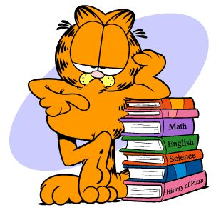 310x301 Garfield School Clipart