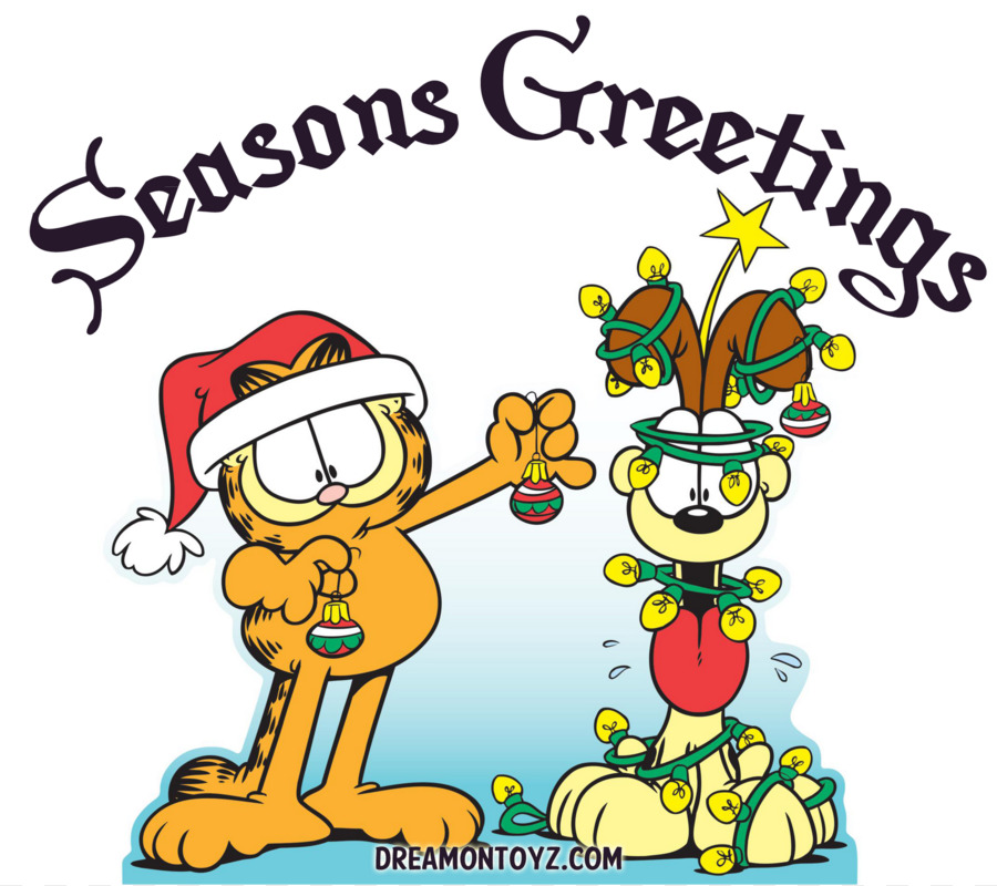 900x800 Odie Garfield Christmas Drawing Clip Art