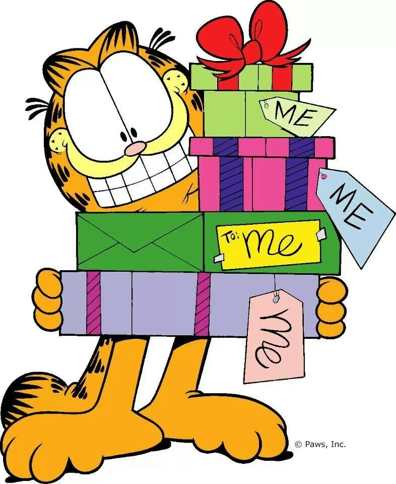 786x960 Tis The Season Garfield Cartoon
