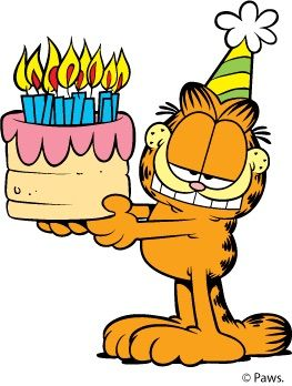 263x348 Birthday Clipart Garfield