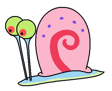 Gary The Snail Clipart At Getdrawingscom Free For Personal Use