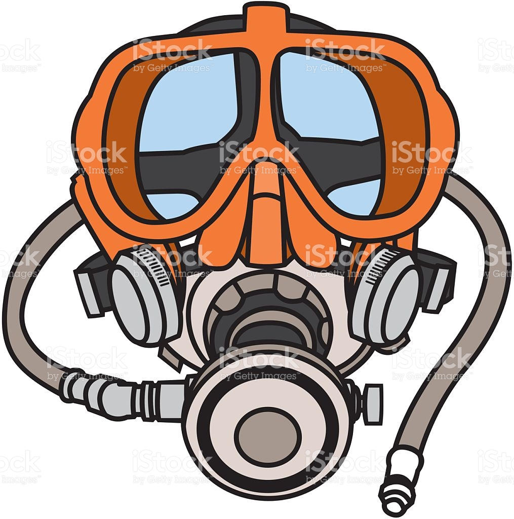 1015x1024 Diving Mask Clipart