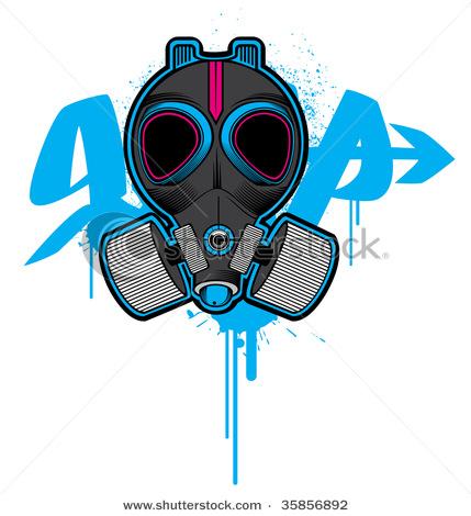 429x470 Gas Mask