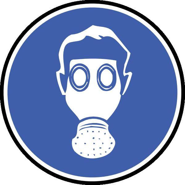 600x600 Wear Gas Mask Clip Art