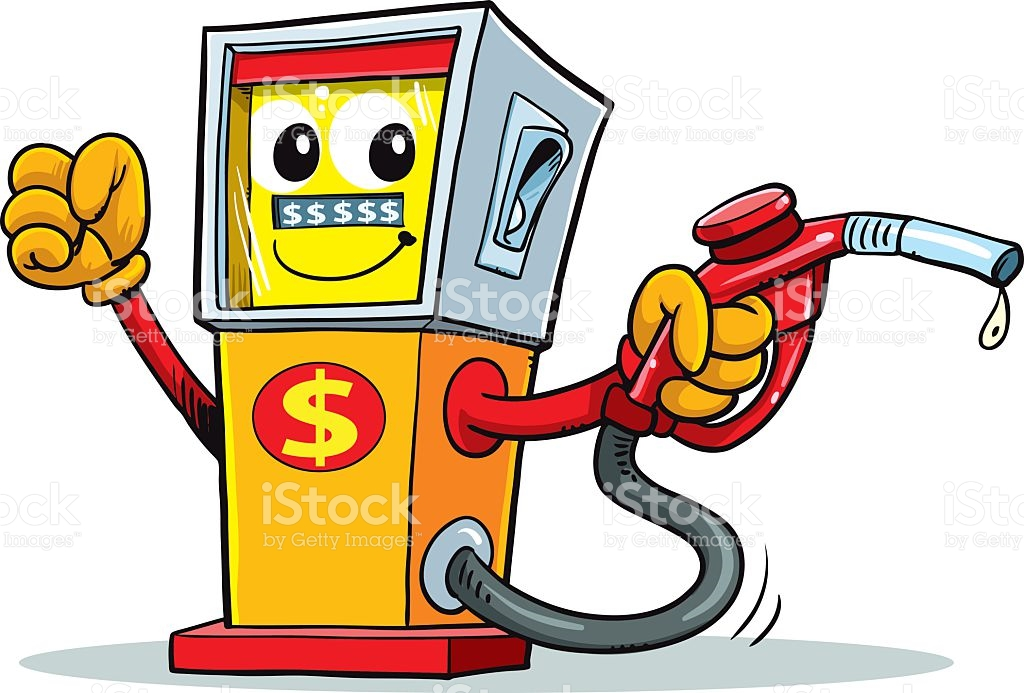 Gas Station Clipart