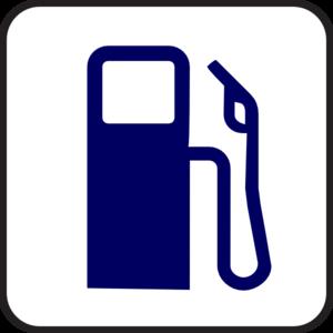 300x300 Blue Fuel Pump Clip Art