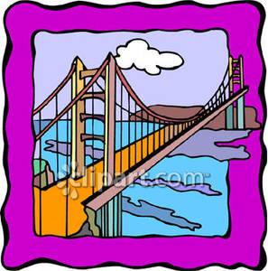 297x300 Goose Gate Bridge Clipart