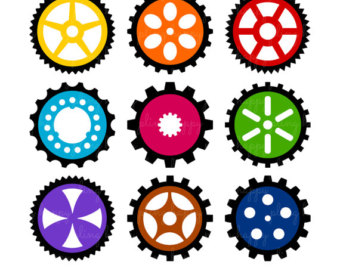 340x270 Gear Clip Art Inderecami Drawing