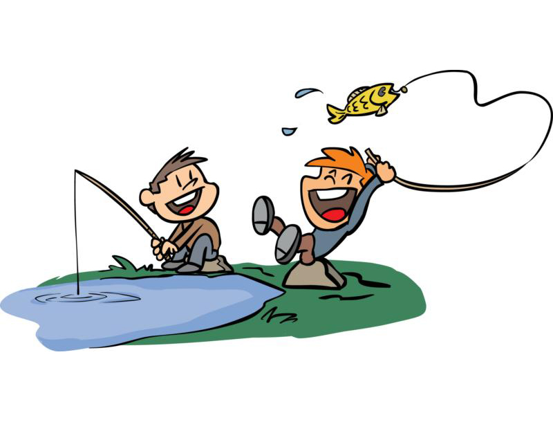 800x610 Angling Gear Clipart