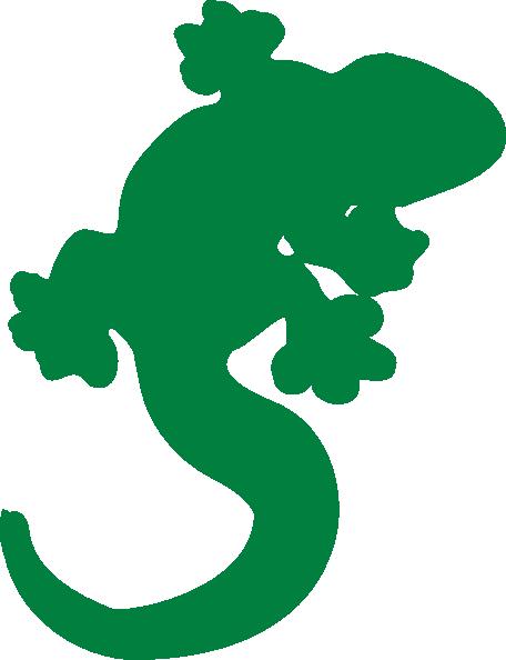 456x594 Gecko Clip Art