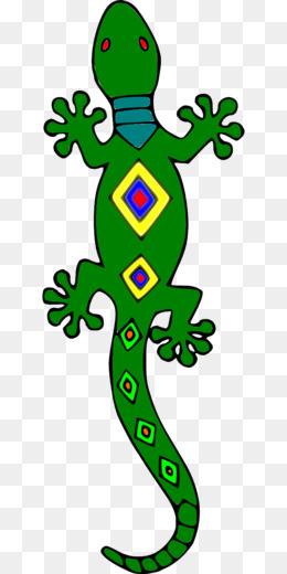 260x520 Lizard Gecko Silhouette Clip Art
