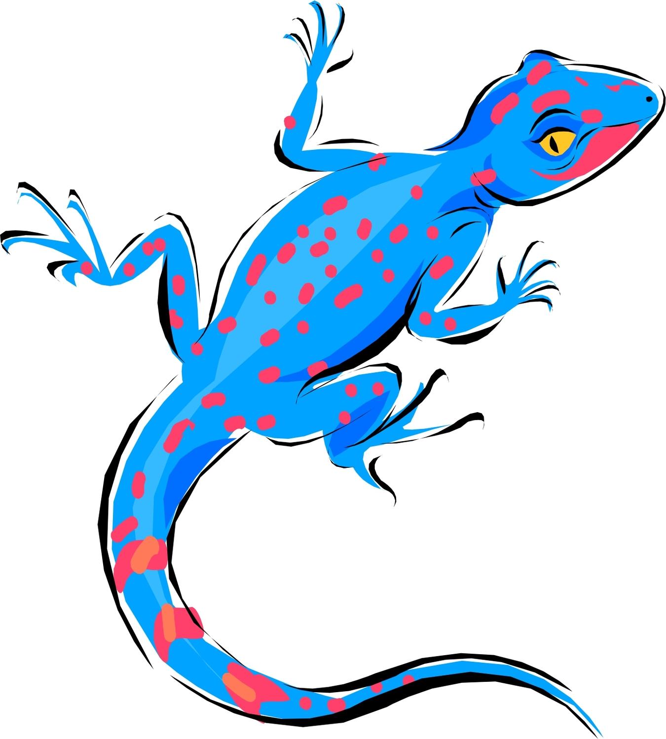 1350x1499 Lizards Clipart