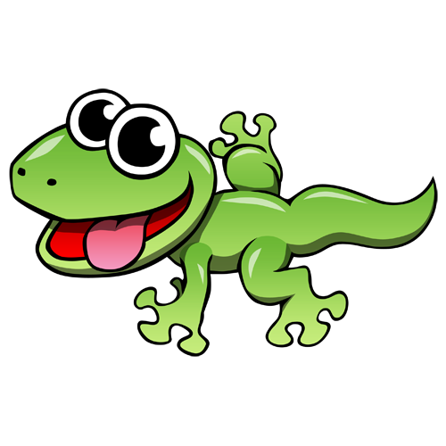 500x500 Lizard Clip Art Cartoon Lizard Clip Art Cartoon Leopard Gecko
