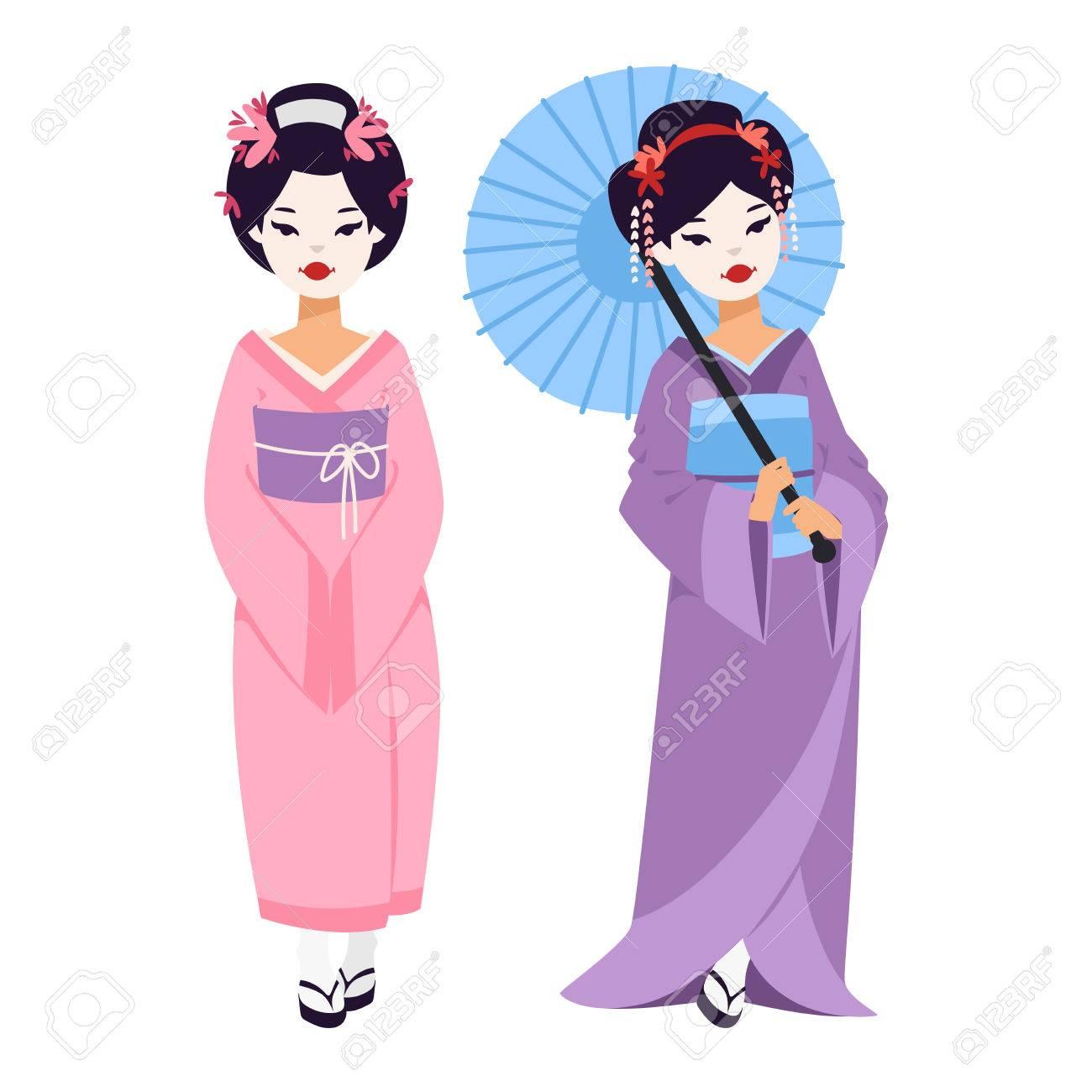 1300x1300 Geisha Clipart Kokeshi Doll 3559746