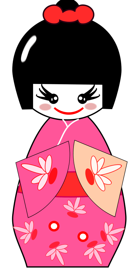 450x900 Geisha Cliparts
