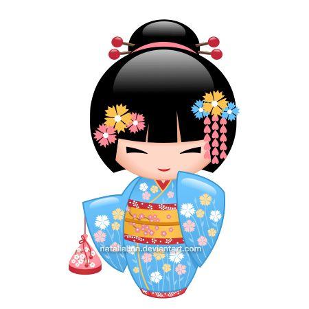 450x450 Maiko Kokeshi Kokeshi Kokeshi Dolls, Dolls