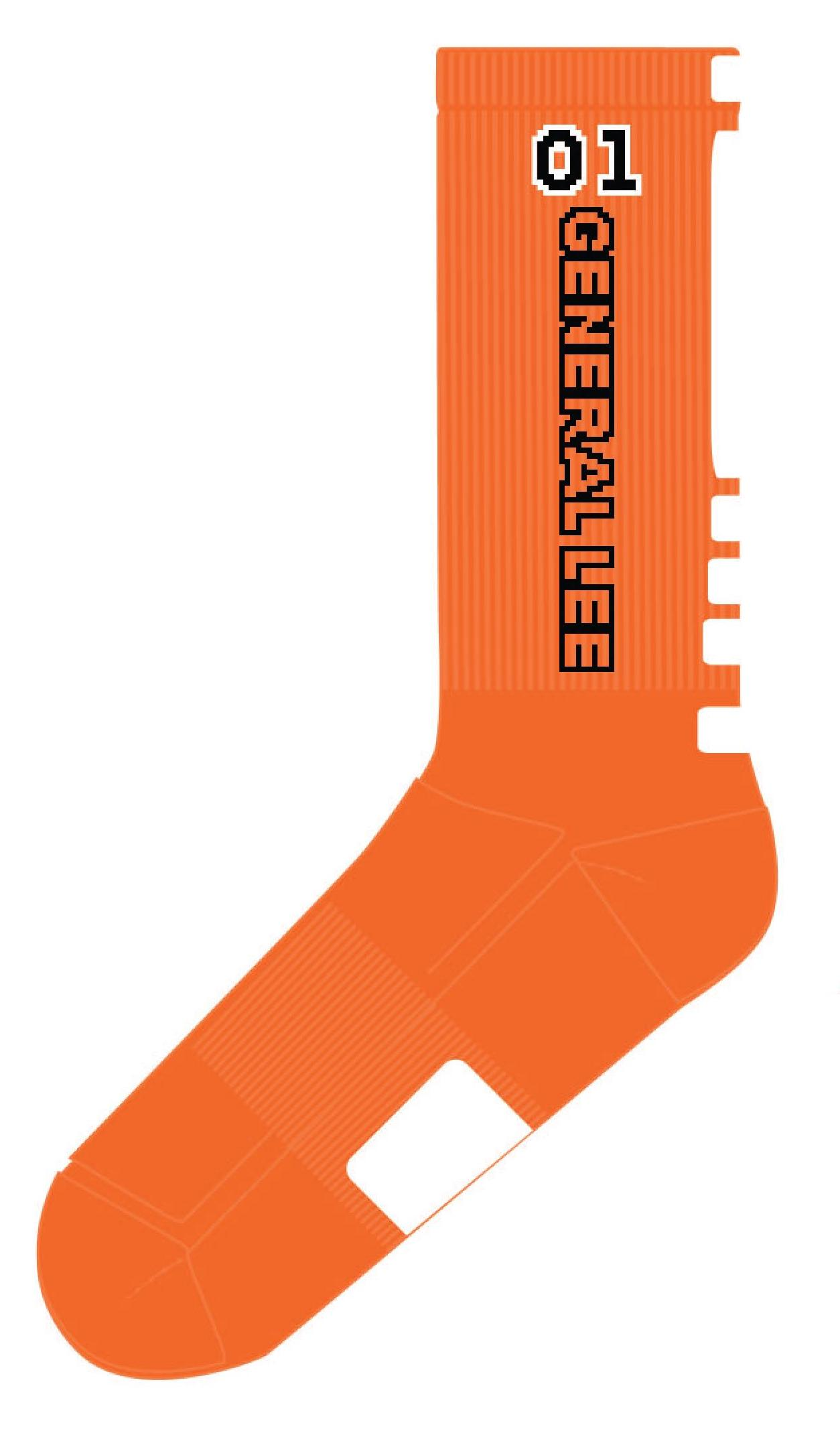 1254x2136 Cooter's 01 High Performance Socks (Orange)