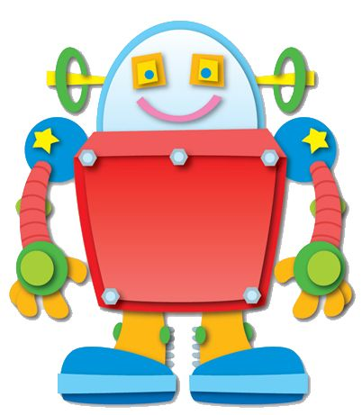 402x461 56 Best Clip Art (Robots) Images On Monsters, Robot