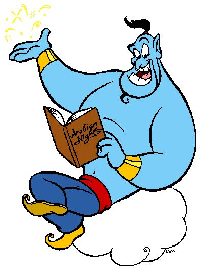 Genie Clipart