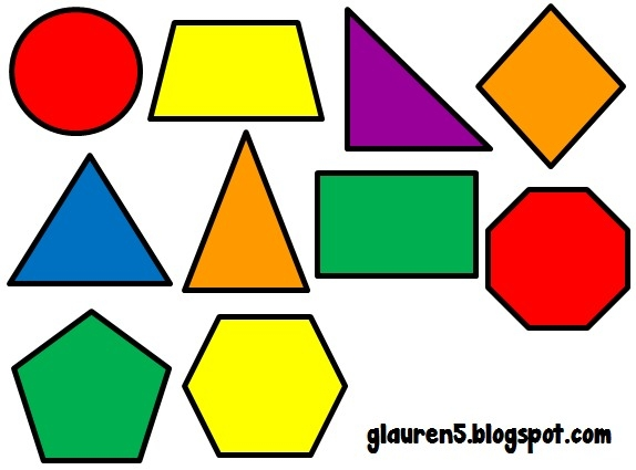 574x425 Geometric Shapes Clipart With Regard To Geometric Shapes Clip Art