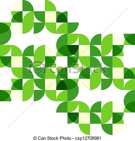450x470 Green Modern Geometric Abstract Background. Green Circles