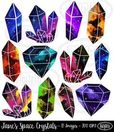 236x273 Hand Drawn Gemstone Clip Art Digital Diamond Clipart
