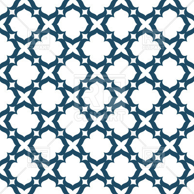 400x400 Seamless Grid With Geometric Shapes Royalty Free Vector Clip Art