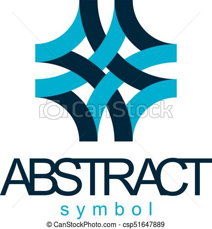 435x470 Vector Abstract Geometric Shape Best For Use As Business Vector